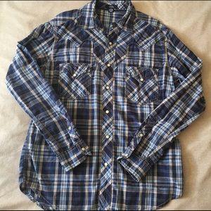 Men's Arizona long sleeve flannel size M